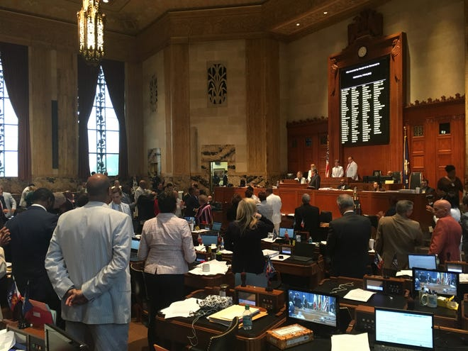 House and Senate lawmakers on Thursday passed legislation that would require elected officials and public employees involved in sexual harassment suits to pay all or a portion of the legal fees, instead of using taxpayer dollars.