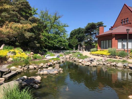 The Shigematsu Memorial Garden on Lansing Community College campus in downtown Lansing.