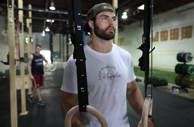 James Lancaster, owner of Deep River Fit in the Binghampton neighborhood, on Friday, June 7, 2019.