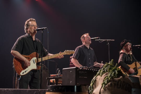 "Violent Femmes played a homecoming show at the Riverside Theater Thursday, June 6, 2019, for Miller Brewing's third-annual ""Cheers to Milwaukee"" free concert."