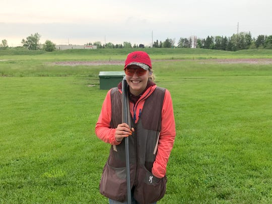 Alison Hauser of Jefferson Sportsmens Youth Trap Club was the overall champion at the 2019 Southeast Wisconsin Youth Trapshooting Conference tournament held last weekend at Waukesha Gun Club in Waukesha, Wis. Hauser broke 100 out of 100 targets in her first four rounds of trap and followed it up with 25 out of 25 in a shoot-off to take the title.