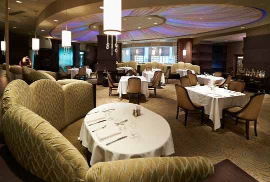 The main dining room at Dream Dance Steak, 1721 W. Canal St., summons visions of Vegas. The look after a major renovation this summer will be modern steakhouse, according to operator Potawatomi Hotel & Casino.