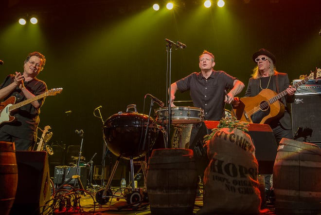 """Violent Femmes played a homecoming show at the Riverside Theater Thursday, June 6, 2019, for Miller Brewing's third-annual """"Cheers to Milwaukee"""" free concert."""