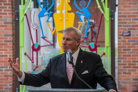 Montgomery Mayor Todd Strange funded the creation of The Children's Gate. The Montgomery Museum of Fine Arts unveiled The Children's Gate on Thursday, June 6, 2019