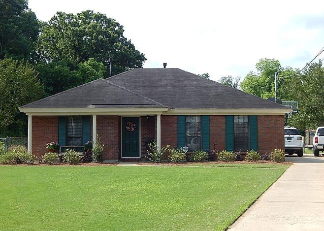 One home on Forest Park Drive is for sale for $124,900 and offers three bedrooms and two bathrooms within 1,480 square feet of living space.