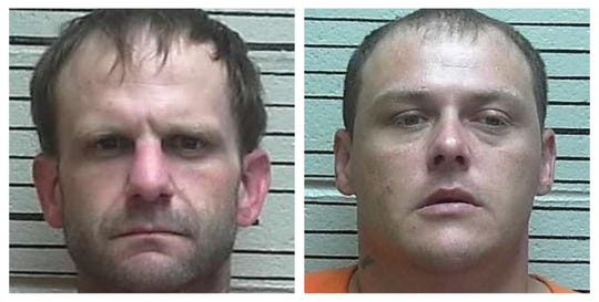 From left: Clint Radcliff, Christopher Chad Bowman.