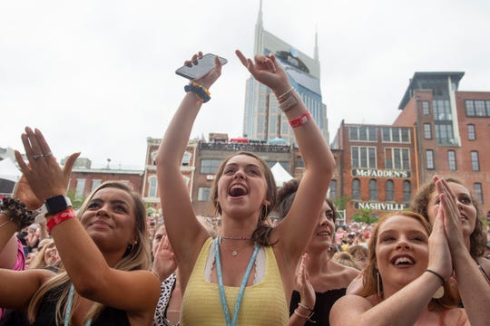 Will country music fans crowd Lower Broadway in June for the CMA Fest like they did in 2019? CMA Fest will continue as scheduled as other music festivals and pro sports events have canceled or postponed because of the coronavirus.