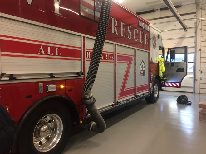 """The Gallatin Fire Department's heavy rescue truck, housed at the new Station No. 5 on Nichols Lane,  """"can handle pretty much about everything,"""" Lt. Lee Daniels said."""