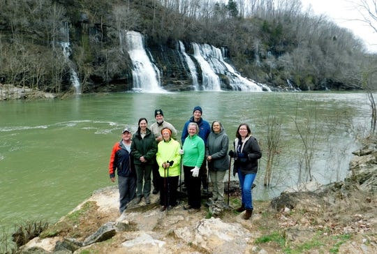 The Tennessee State Parks waterfall tours take groups to a number of spectacular falls including Rock Island State Park's Twin Falls.