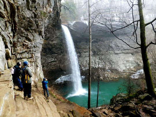 The November Waterfall Tour concludes with a visit to Ozone Falls and Black Mountain State Natural Area.