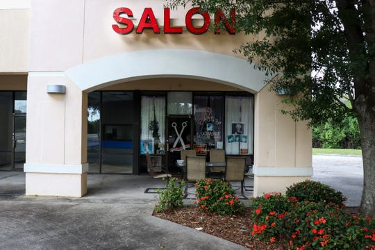 Soon, Gaddis' hair salon will be the last remaining storefront in Hancock Bridge Square.