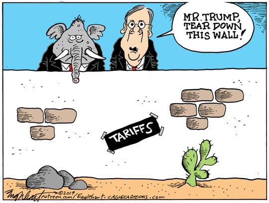 Tariffs and Republicans