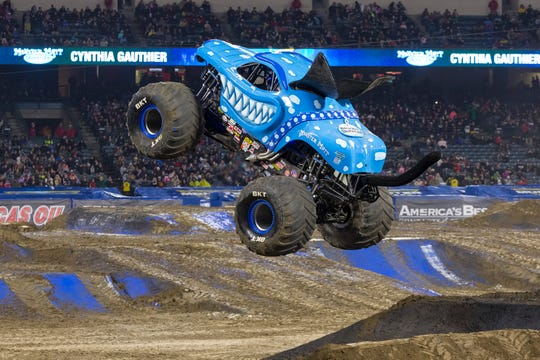 The Monster Mutt Dalmatian Ice will ride at Monster Jam at MetLife Stadium.