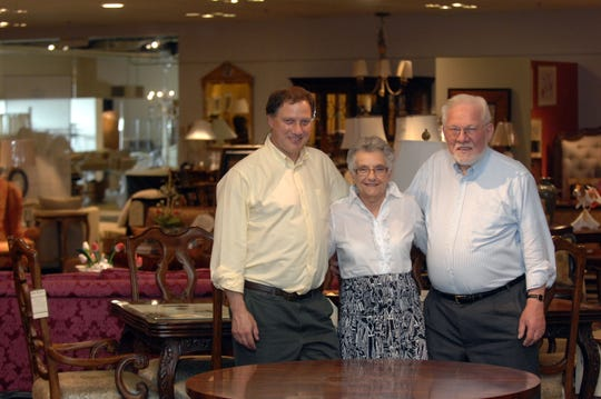 File photo of Mark, Marcia and Joe Bograd inside their Riverdale store on June 14, 2012. The Bograd family is shutting down their their high-end furniture company in 2019, after nearly nine decades in business.