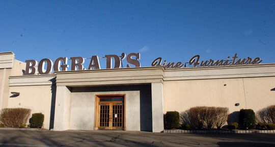 The entrance to Bograd's Fine Furniture in Riverdale, N.J., pictured on Nov. 20, 2013. The Bograd family is shutting down their their high-end furniture company in 2019, after nearly nine decades in business.