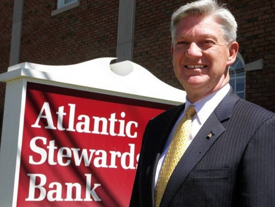 Paul Van Ostenbridge is the President and CEO of Atlantic Stewardship Bank, based in Midland Park, is merging into Fair Lawn-based Columbia Bank.
