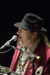 Dr. John at at the First Congregational Church Sanctuary on South Fullerton Ave. during Montclair's First Night 2007.