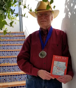 """New Mexico author Kent F. Jacobs' recent novel, """"Hopi Tea,"""" has won the Silver Medal for Best Regional Fiction at a celebration on May 28 during the annual BookExpo in New York City."""