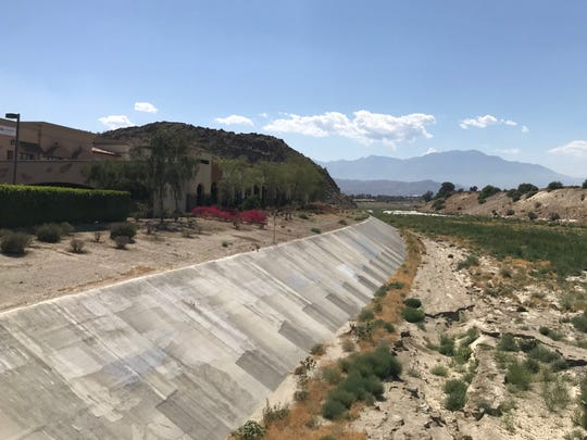 La Quinta is requesting to annex this portion of land along the south side of the Whitewater Channel wash, adjacent to the rear of Point Happy shopping center, as the starting point of its CV Link path. Though long believed to be already in La Quinta's city limits, the land is in Indian Wells. On Thursday, June 6, 2019, Indian Wells City Council cited safety concerns and Measure H in denying La Quinta's request.