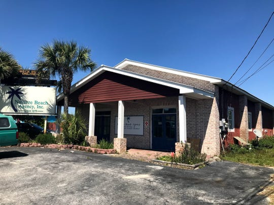 The Navarre Beach Area Chamber of Commerce's new permanent home, located at 1804 Prado Street.