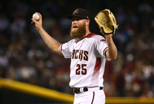 Diamondbacks pitcher Archie Bradley's walk-up music is not near the top of the list.
