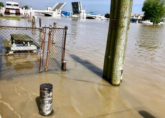 Record-high Lake Erie water levels are not slowing down business owners, officials and other stakeholders from growing downtown Port Clinton.