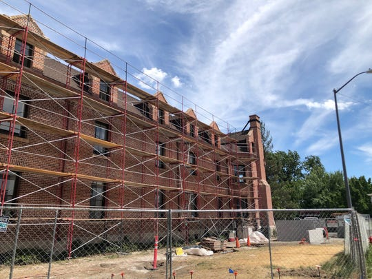 Manzanita Hall is scheduled to open for residents in Fall 2019.