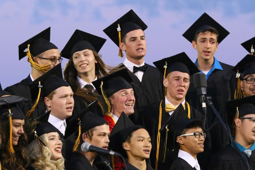 Graduation photos from 7 schools in the Redding area for ...
