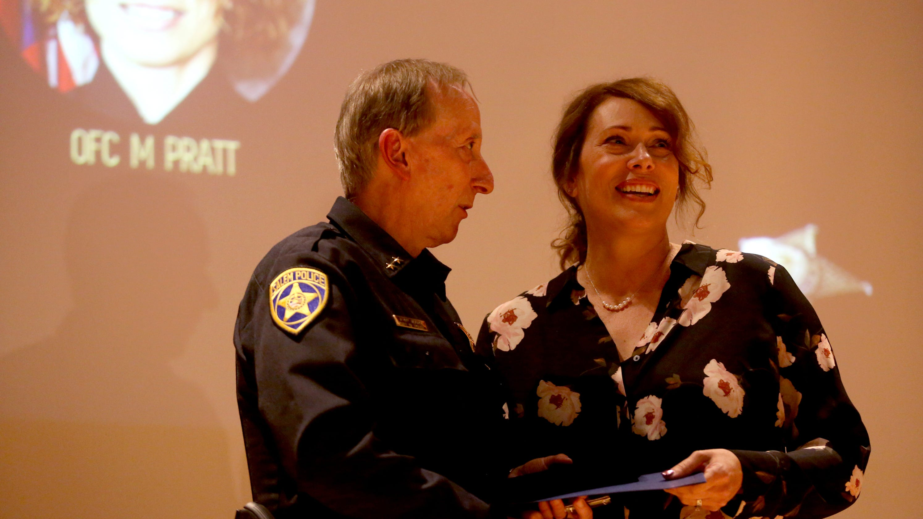 PHOTOS: Salem Police Honor Officer Who Was Shot And Others