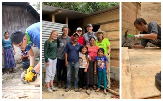 Students and sponsors from Cornerstone Christian School spent time in Guatemala recently doing construction projects. The school's curriculum includes service projects at every grade level, leading up to out-of-country trips for junior and senior class members each year.