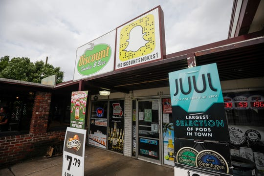 Stores like Discount Smokes & Beer on Kimbrough Avenue may only be able to sell vaping and tobacco products to people aged 21 and older as the Springfield City Council considers a proposal that raise the minimum age to purchase these products from 18 to 21.