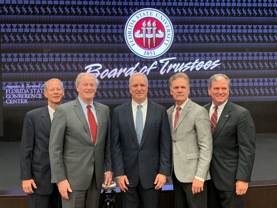 The Florida State Board of Trustees unanimously approved the joining of the FSU Athletics Department and Seminole Boosters, Inc. under the newly created Florida State University Athletics Association