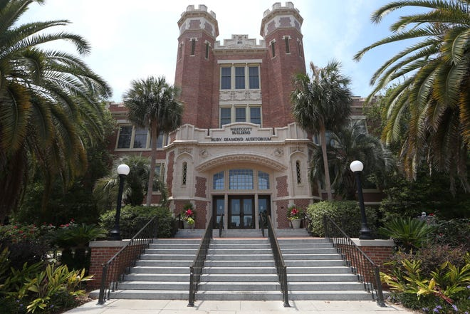 The Westcott Building on the campus of Florida State University.