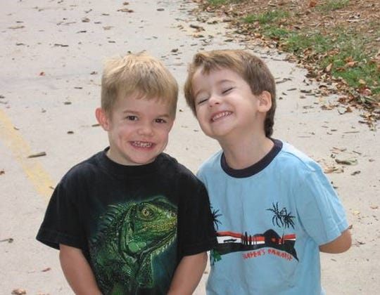 Henry Johnson and Wyatt Duclos were friends since they were 3 months old.