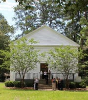Pisgah United Methodist Church is located northeast of Tallahassee on Centerville Road.