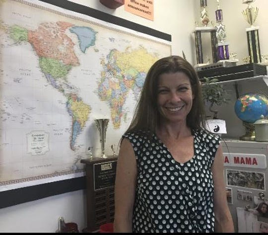 Jeannine Meis, history teacher at Leon High School, has spent the last several months researching the life of 1st Lt. William Shelfer. She will present her findings at the end of summer in France.