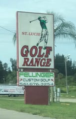 Mike Woodbury said his 13-year-old son runs the St. Lucie Golf Range.