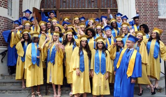 The Montfort Academy graduation ceremony in Mount Vernon on June 7, 2019.