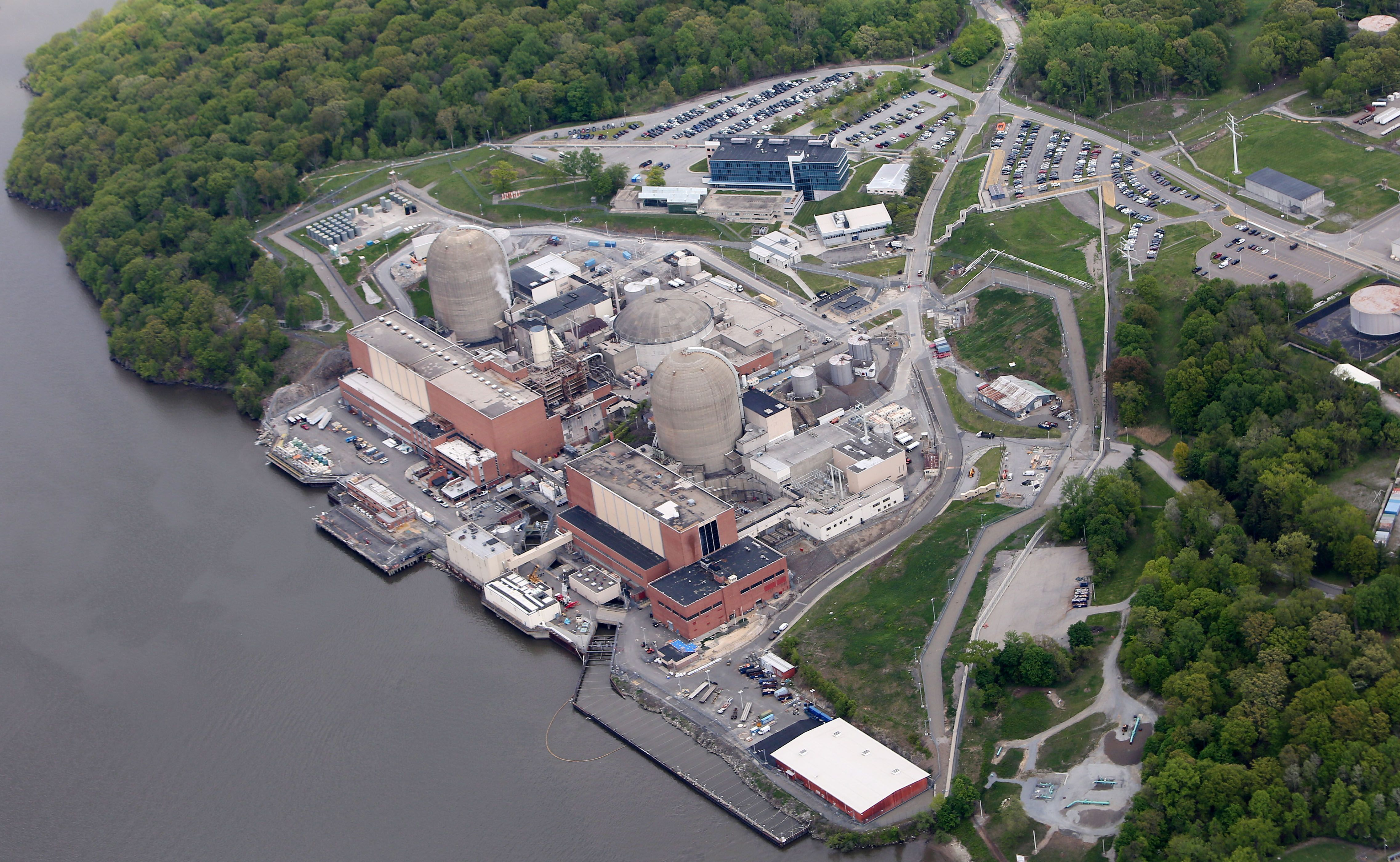 The Indian Point Nuclear Power Plant in Buchanan May 9, 2017, months after its owner, Entergy, announced an agreement to shut down the plant by 2021.