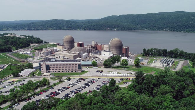 Drone image of Indian Point Energy Center in Buchanan on Wednesday, June 5, 2019.