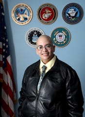 Damaris Trinidad, a veteran who serves as a peer-to-peer mentor in the PFC Joseph P. Dwyer Veterans Peer Support Project, will be honored with the first Rockland County Veteran Pride Award.  Trinidad is photographed at the Rockland County Veterans Agency June 7, 2019 in New City.