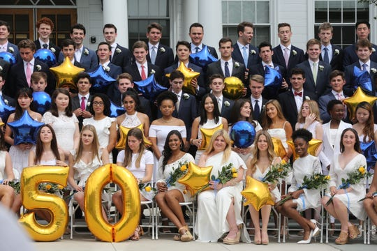 Rye Country Day School graduation June 7, 2019.