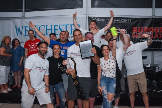 "The Wooden Spoon in New Rochelle took won the ""People's Choice"" award at Westchester Magazine's Burger & Beer Blast June 6, 2019."