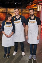 "The Livanos Family are on ABC's new show, ""Family Food Fight."""