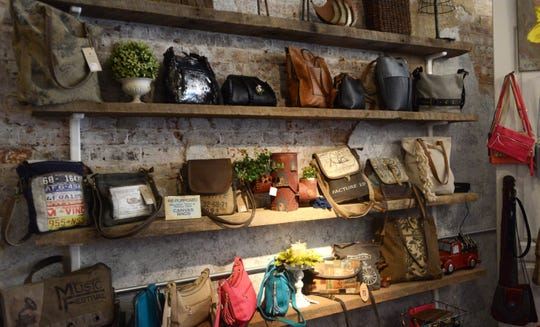A variety of handbags are available at the Towne House, located at 524 Main St. in Zanesville. The boutique is owned and operated by Sally Ritz, who also runs a store in Cambridge.