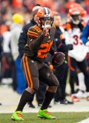 Browns RB Duke Johnson is entering his fifth NFL season.