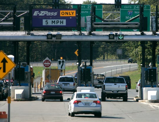 The New York state Thruway Authority plans to raise tolls in 2021 on drivers who do not convert to E-ZPass.
