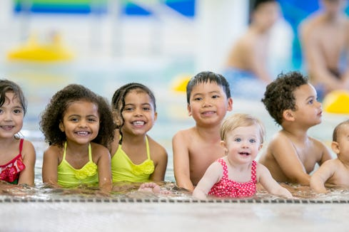 Toddlers are at most risk for drowning. African American children are also a high-risk group.