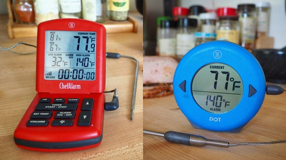 These prob thermometers will help Dad master the grill this summer.