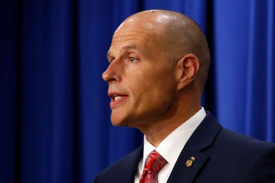 "President Donald Trump picked Ronald Vitiello to lead Immigration and Customs Enforcement but later withdrew the nomination, saying he wanted the agency to go ""in a tougher direction."""